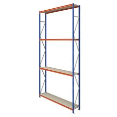 TUFF Longspan Shelving 5mtr High 4 Shelves
