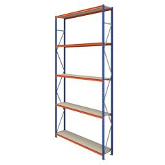 TUFF Longspan Shelving 5mtr High 5 Shelves