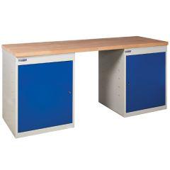 TUFF Pedestal Bench 2 Cupboards