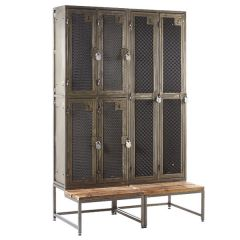 TUFF Rustic Lockers - With Stands