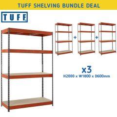 TUFF Longspan Shelving Bundle