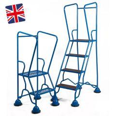Warehouse Steps - Anti Slip Tread or Mesh Treads- UK Made