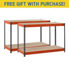 TUFF 300kg Workbench Bundle & Free Gift - W900mm