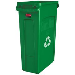 Slim Jim Vented Recycling Containers