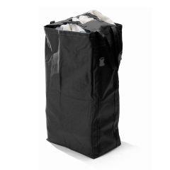 Folding Laundry Bag Trolleys - Black
