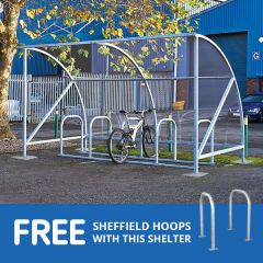 Vivo Cycle Shelter with free hoops