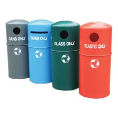 Economy Recycling Waste Bins - All Types