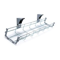 Silver Cable Management Tray