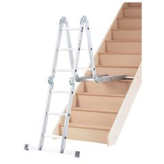 10 in 1 Ladder on a stairwell