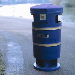 Westminster Bin Blue