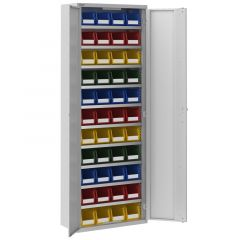 Workshop Cupboard with 44 No.3 Bin Containers