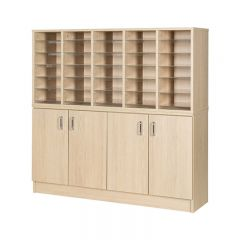 Pigeon Holes with Cupboard - 30 Spaces