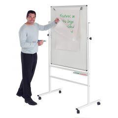 Write-On Revolving Whiteboards - Non-magnetic