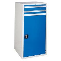 XL 2 Drawers & Cupboard - W600mm - Blue