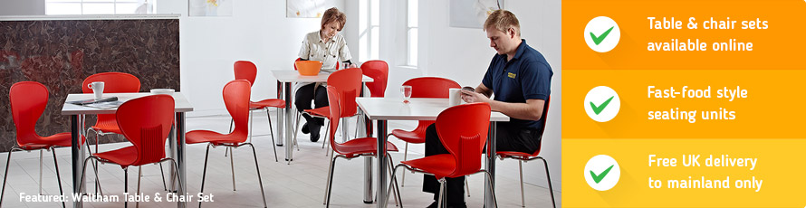 Canteen Furniture Sets will save you money