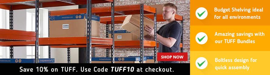 TUFF Shelving Bundle