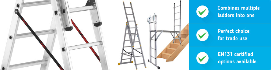 Combination Steps are a versatile solution for safe working at height