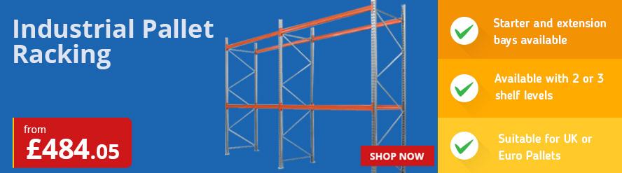 Industrial Pallet Racking for UK & Euro Pallets