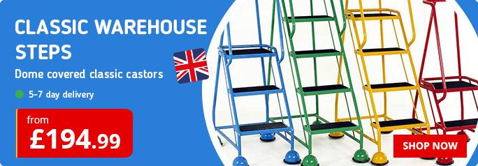 Classic Warehouse Steps