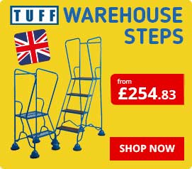 TUFF Warehouse Steps