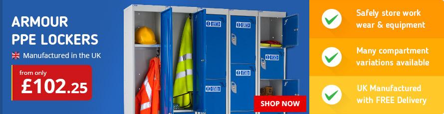 Armour PPE Lockers