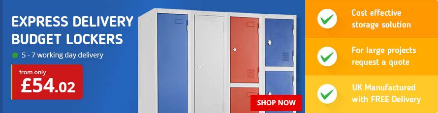 Cost effective Budget Lockers for essential secure storage