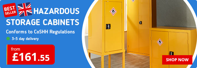 Leading UK Supplier of CoSHH Cabinets