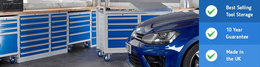Reasons to buy Euroslide drawer cabinets