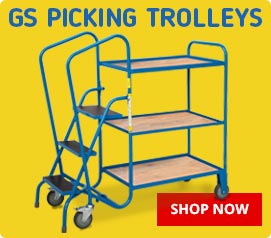 GS Approved Picking Trolleys