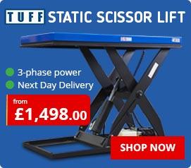 TUFF Static Scissor Lifts