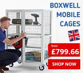 Boxwell Mobile Shelf Trolleys