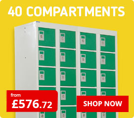 40 Compartment Lockers