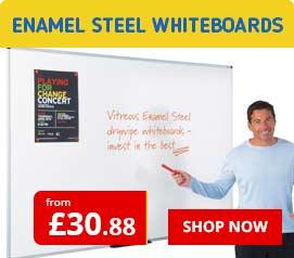 Enamel Steel Whiteboards