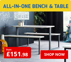 All In One Bench and Table