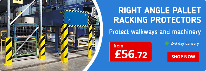 RIGHT ANGLE PALLET RACKING PROTECTORS
