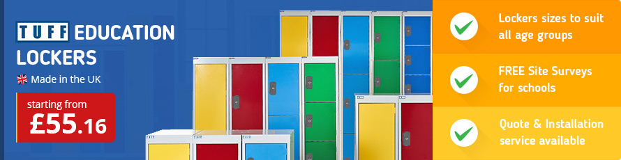 School Lockers for all ages