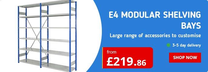 E4 Modular Shelving