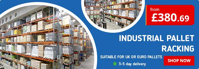 Shop our best selling Industrial Racking