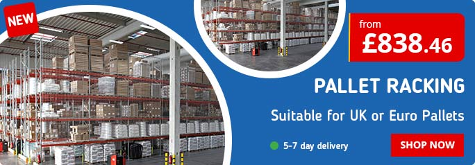 Shop our New Pallet Racking