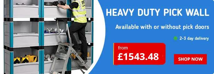 Heavy Duty Pick Wall