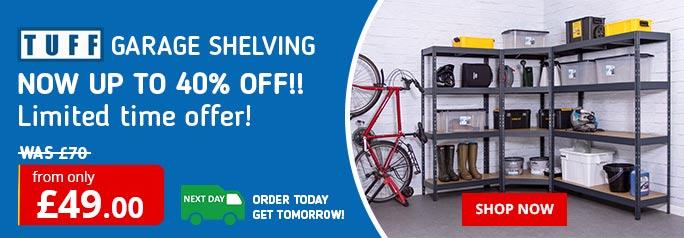 Leading UK Supplier of Shelving