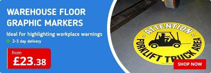 Warehouse Floor Graphic Markers