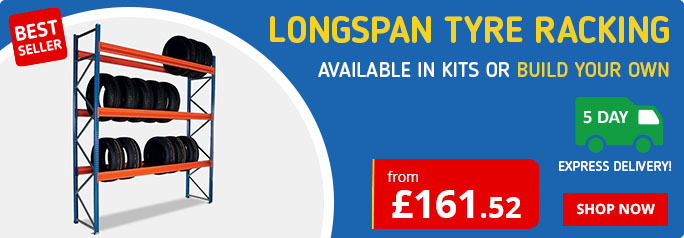 Shop our range of Tyre Racking