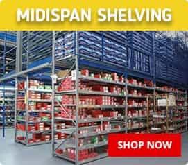 Midispan Heavy Duty Shelving