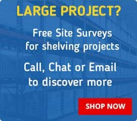 Contact us for your shelving requirements