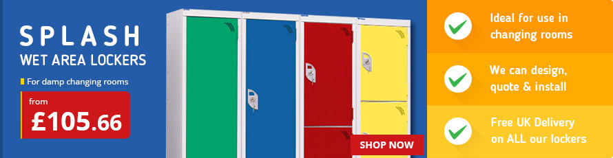 Sports and Gym Lockers ideal for changing rooms