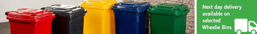 Wheelie Bins With Next Day Delivery