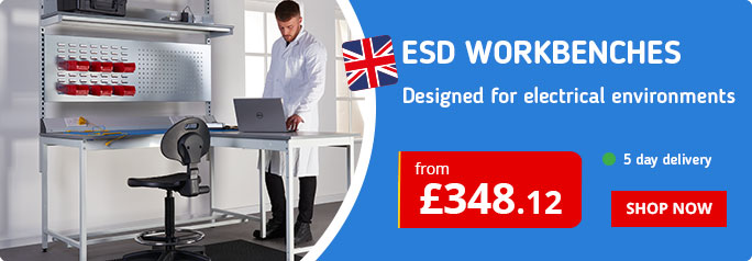 ESD Workbench range for electrical environments