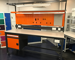 bespoke heavy duty workbenches by Workplace Products